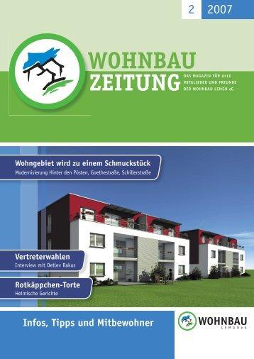 Wohnbau-Zeitung 2/2007 - Wohnbau Lemgo eG