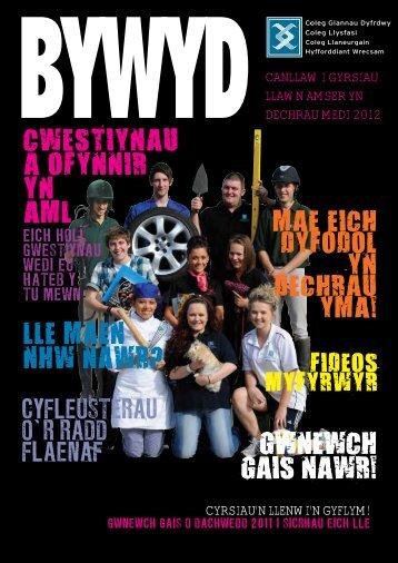 GWNEWCH GAIS NAWR! - Deeside College