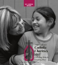 2011 ANNUAL REPORT - Catholic Charities