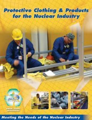 Protective Clothing & Products for the Nuclear Industry - UniTech