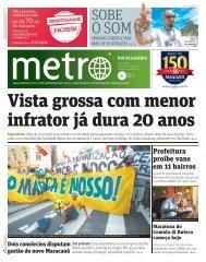 Prefeitura proíbe vans em 11 bairros - Metro
