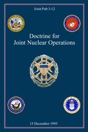 JP 3-12 Doctrine for Joint Nuclear Operations