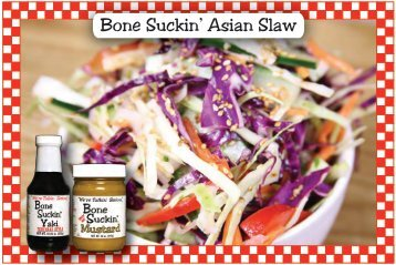 Bone Suckin' Asian Slaw