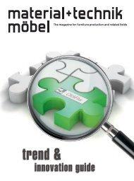 Klare Vorteile material+technik möbel Ausgabe 02 ... - Kesseböhmer