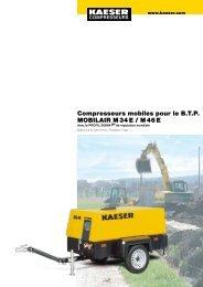 M 34E/46E 3.4–4.6 m³/min 120–160 cfm - Kaeser
