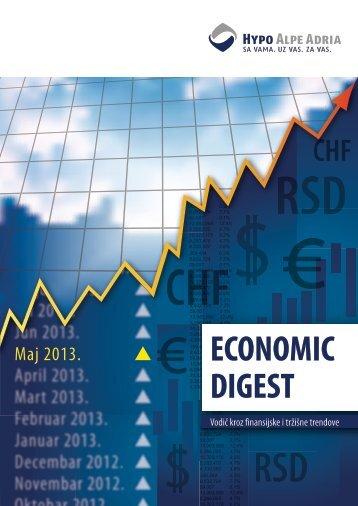 Economic Digest (Maj 2013.) - Hypo Alpe-Adria