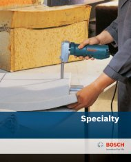Specialty - Bosch Power Tools