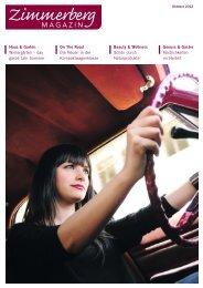 Ausgabe Oktober 2012 - Zimmerberg-Magazin