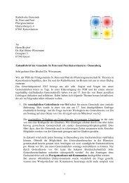 Zukunftsbrief 7 - Kirchen in und um Kaiserslautern