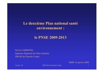 Le deuxième Plan national santé environnement : le ... - Ascomade