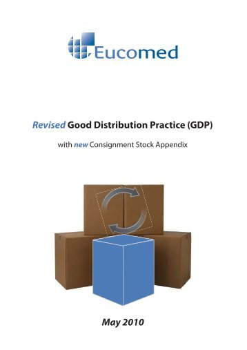Revised Good Distribution Practice - Eucomed