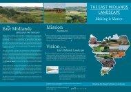 The East Midlands Landscape: Making it Matter - Natural England