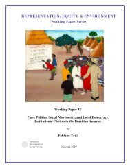 Working Paper 32 - World Resources Institute