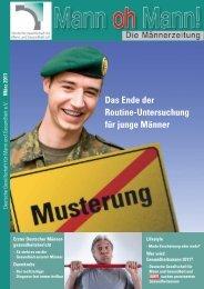 Mann oh Mann! - Deutsche Gesellschaft für Mann und Gesundheit