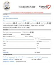 Site Datasheet - the City of Hopewell Virginia