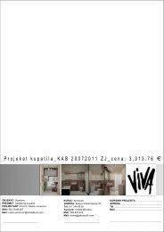 Da pogledate glavni projekat kupatila KAB20072011ZJ ... - Akvabutik