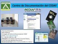 Centro de Documentación del CEDAF