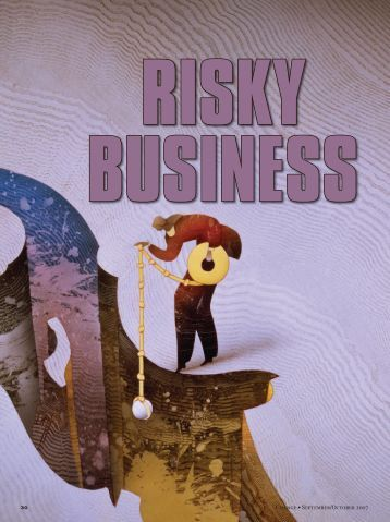 Risky Business. - NSSE - Indiana University Bloomington