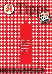 Kritik am Schweizer Kondom- verzicht bei HIV - DAHKA e.V.
