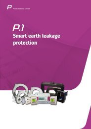 Smart earth leakage protection - Circutor