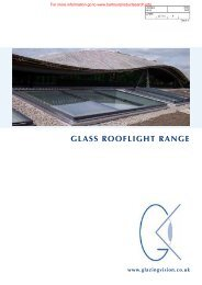 GLASS ROOFLIGHT RANGE - BD Online Product Search
