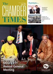 25 June 2012 - Singapore Indian Chamber of Commerce and Industry