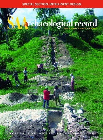 Number 2, March - Society for American Archaeology
