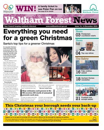 Waltham Forest News, issue 10 - Waltham Forest Council