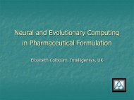 Neural and Evolutionary Computing