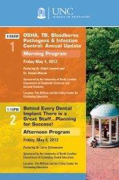 O & OSHA, TB, Bloodborne Pathogens & Infection Control