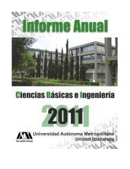Informe Anual 2011 - CBI - UAM