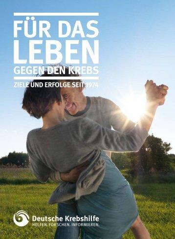 Imagebroschüre (PDF) - Deutsche Krebshilfe eV