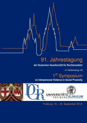 92. Jahrestagung der Deutschen Gesellschaft für Rechtsmedizin