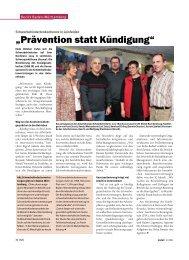 Firma Fortschritt (Freiburg) - IG Metall Baden-Württemberg