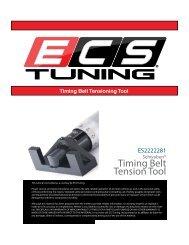 Timing Belt Tension Tool