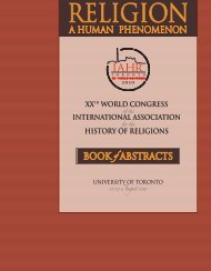 BOOK of ABSTRACTS XXTh WORld COngReSS InTeRnATIOnAl ...