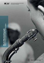 MHS Kurse 2013-14.pdf - Hochschule für Musik Basel
