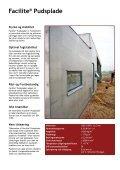 Facilite® Pudsplade - Rockidan - Page 6