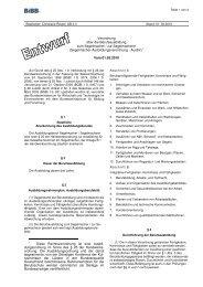 Berufsausbildungsverordnung Segelmacher - Wir gestalten ...