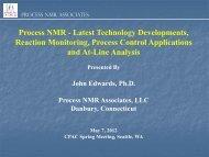 Process NMR Technology Development - CPAC