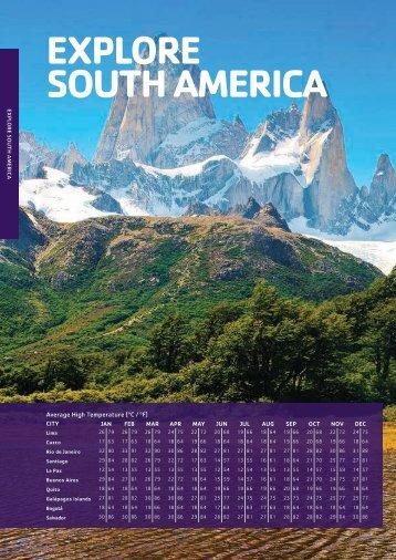 EXPLORE SOUTH AMERICA - STA Travel Hub