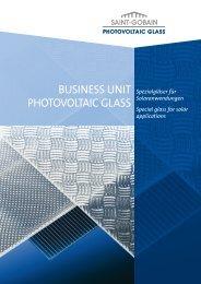 Prospekt Deggendorf 2006 II - Saint-Gobain Solar Glass