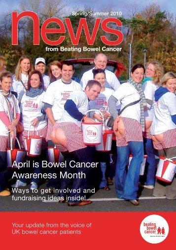 Spring - Summer News 2010 - Beating Bowel Cancer