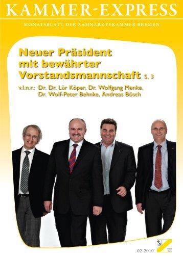 Zahnärztliche Berufsausbildung - Zahnärztekammer Bremen