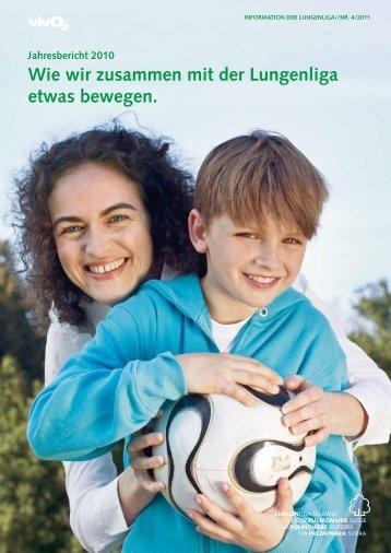 Jahresbericht 2010 - Lungenliga