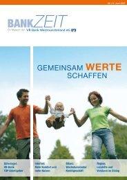 BANKZEIT - VR-Bank Westmünsterland eG