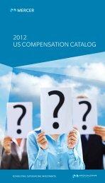 2012 us compensation catalog - iMercer.com