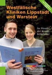 Westfälische Kliniken Lippstadt und Warstein - Klinikmagazin
