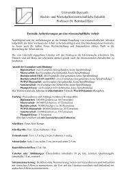 Formale Anforderungen an wissenschaftliche Arbeiten