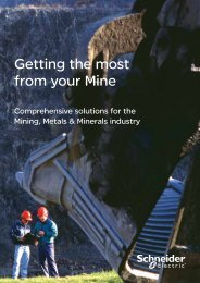 MMM Solutions Brochure - South Africa (pdf 2.2 ... - Schneider Electric
